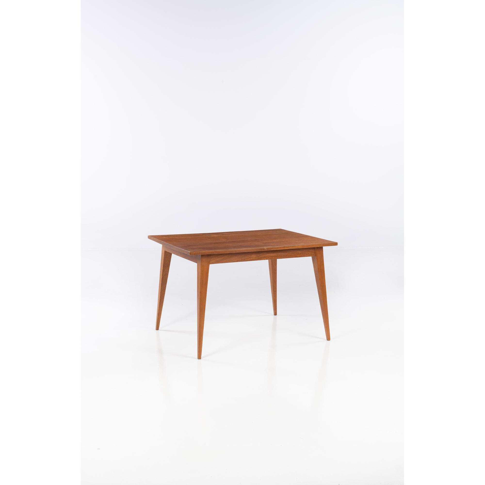 ƒ Joaquim Tenreiro (1906-1992) Table de salle à manger
